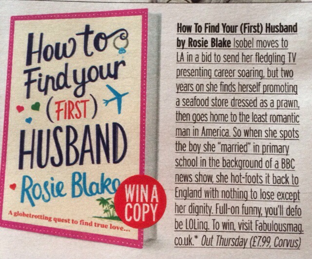 The Sun review HOW TO FIND YOUR (FIRST) HUSBAND